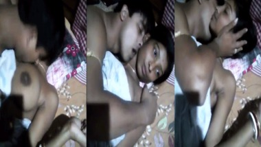 Bangla couples hot sex video shot in friends house