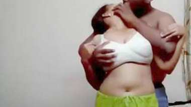 Desi yaung girl romance with her father