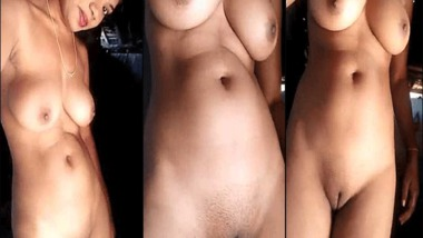 Real hot desi girl showcases her nude body MMS sex video