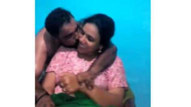 Desi hot village aunty romance with her husband boss