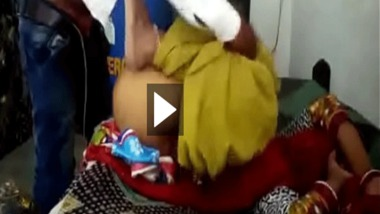 Village wife home sex video caught by her lover leaked