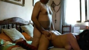 Desi papa sex with an escort girl at home in hardcore sex