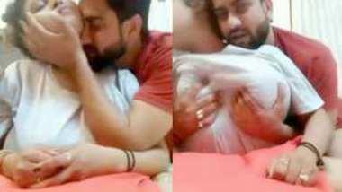 Desi girl big boobs press by bf best friend