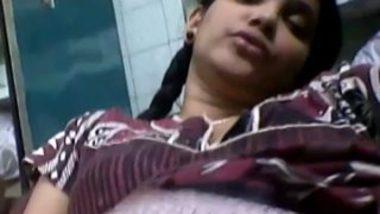 Indian bank employee fingering selfie – 6