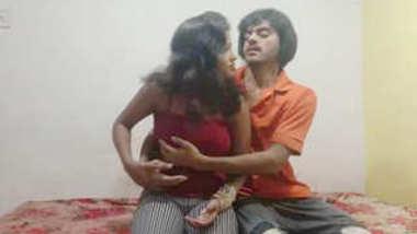 Desi collage lover romance in hotel