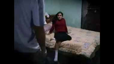 Hindi bf video of a hot girl enjoying a nice home sex session