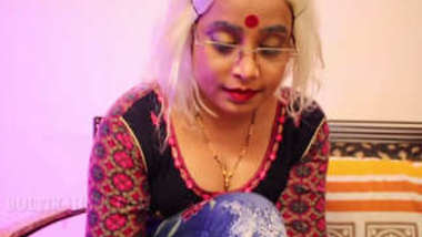 Desi hot aunty fucking with damadji