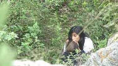 Desi lover outdoor caught