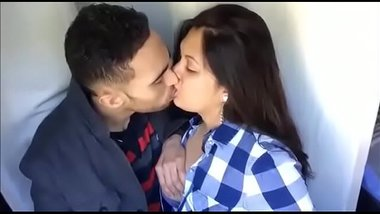 Free porn videos of a hot girl kissing her lover in a changing room