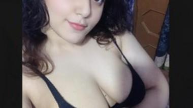 Beautiful Girl big boobs show Lover crazy Selfie
