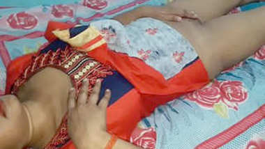 Desi cute bhabi nice fucking with devar