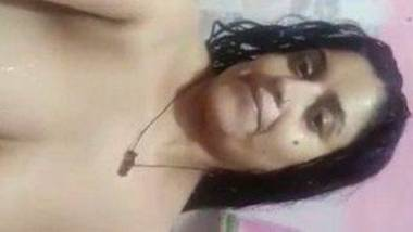 Beautiful desi boudi nude bathing selfie