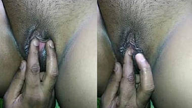 desi girlfriend sexy pussy fingering by lover