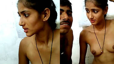 young married indian wife filmed naked