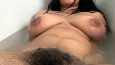 Super Hairy Desi Pornstar