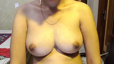 Indian Slip Girl Transparent saree