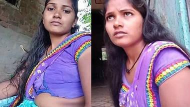 Hot village housewife bhabhi sanjana desai hot navel show.