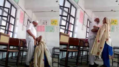 Pakistani School Headmaster doing sex with his Young Female Teacher
