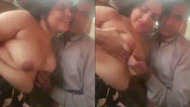 Same desi couple boob suck in car 2