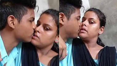 desi teen couple hot kiss
