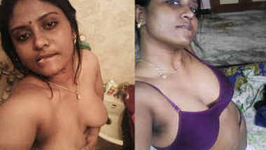Horny Tamil Girl Showing Her Boobs
