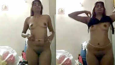 New-Desi Swati Naidu dress change and full showing nude