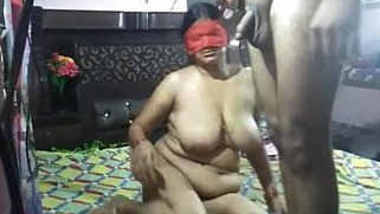 Horny Indian Wife Blowjob