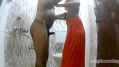 Indian Cpl bathroom Fuck
