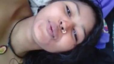 Sexy Indian girl Neha Fingering Selfie
