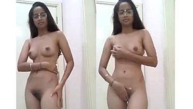 Sexy Nri girl Fingering Selfie