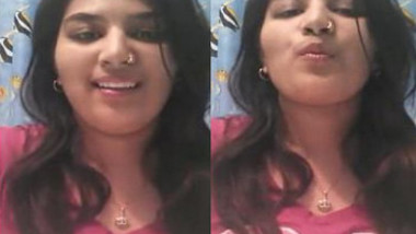 Deshi Beauty Selfie For BF