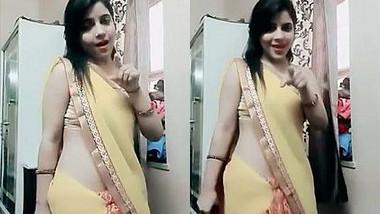 Desi Bhabi Saree ,Belly ,Hot dance