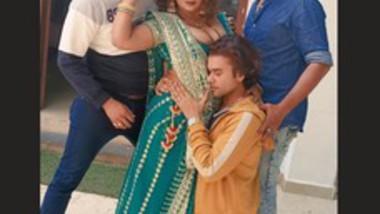 Sapna Bhabi Hot Live from Shooting Shot