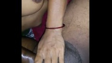 Indian wife sucking husband cock