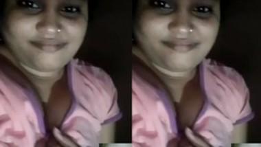 Bhabi on video call