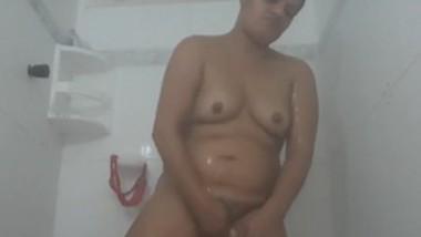 Horny punjabi bhabi bhagvanjyot shower 1