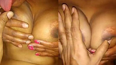 Desi wife big boobs playing by self with hubby