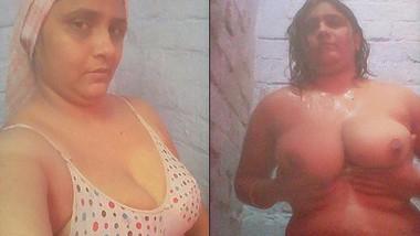 desi aunty bathing £ video call