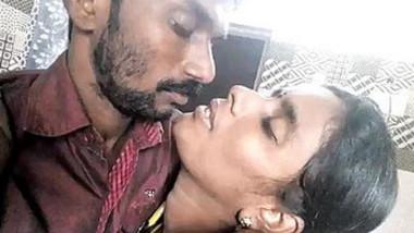 Desi Couple Romance & Kissing