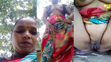 desi aunty boobs and pussy show