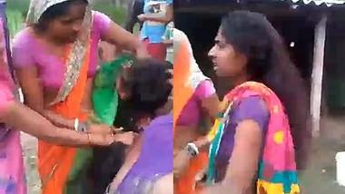 Desi bhabi fight outdoor show boob