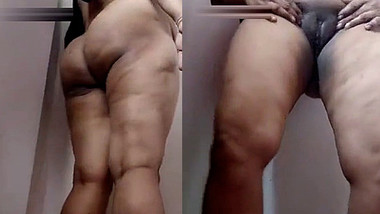 Desi Chubby Aunty Nude Teasing