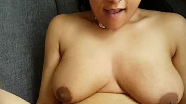 Bouncing boobs Nri girl getting fucked hard with loud moaning