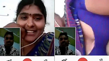 desi telugu aunty video call with bf