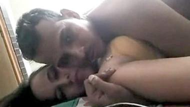 Desi village couple having romance