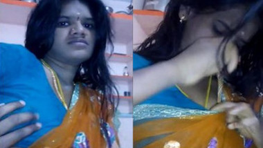 Saree Bhabhi at home