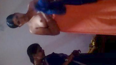Desi aunty dress change boobs capture