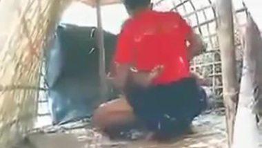 First time Outdoor sex on boat leaked mms
