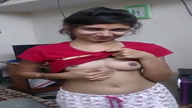 Sexy young Indian bhabhi teasing and seducing hubby