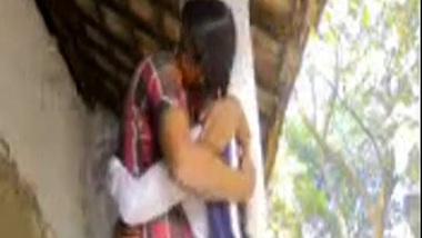 Indian outdoor sex clip of village girl in uniform